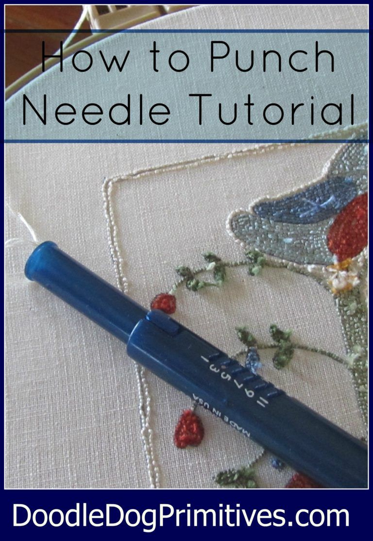 How To Punch Needle Series #1: Tracing The Pattern | Crochet - Free Printable Punch Needle Patterns