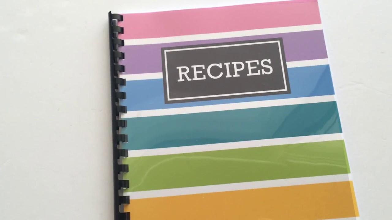 How To Quickly Make A Diy Recipe Book (Plus Free Printable Recipe - Free Printable Recipe Book Pages