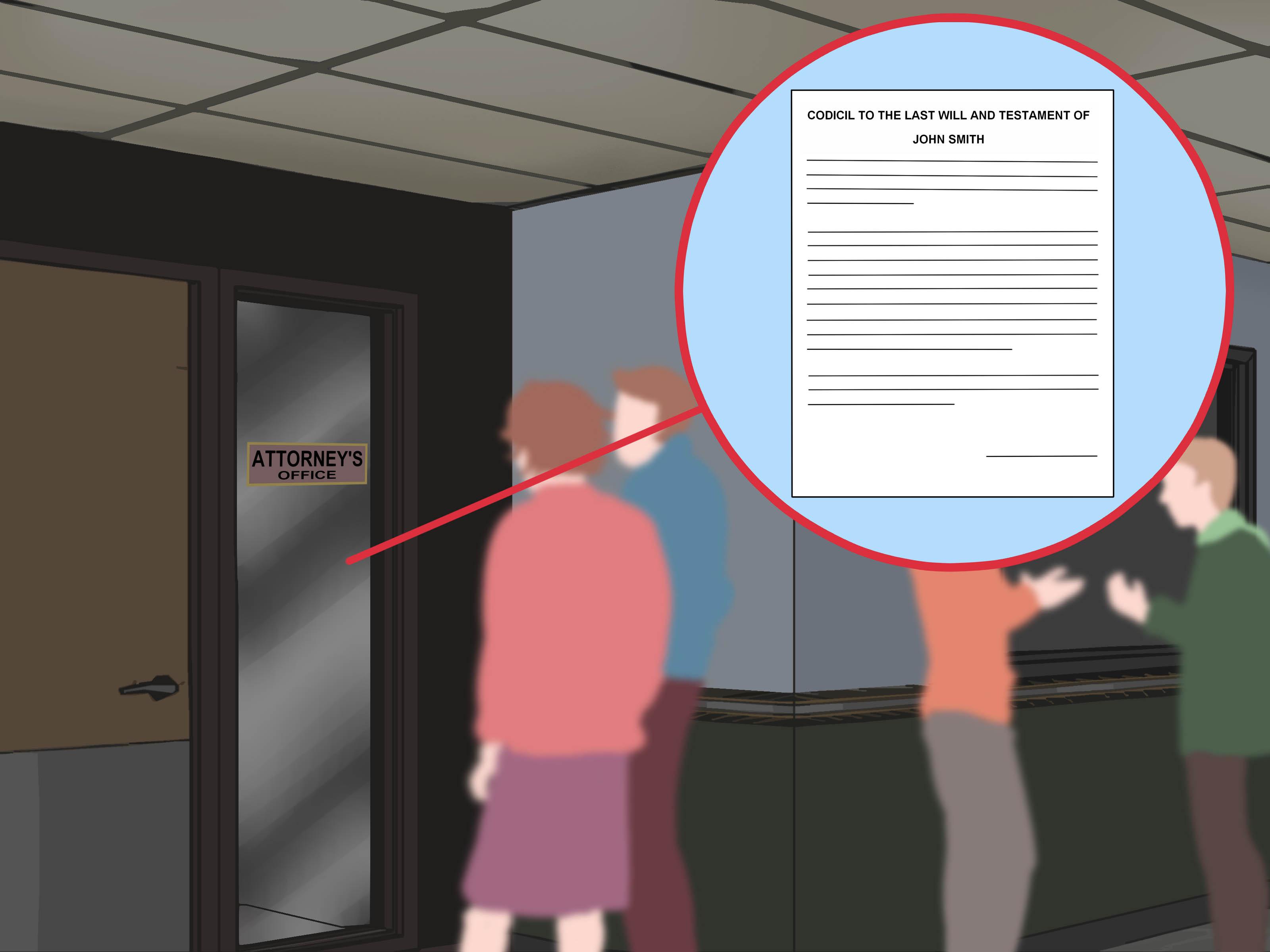 How To Write A Codicil (With Sample Codicil) - Wikihow - Free Printable Codicil Form