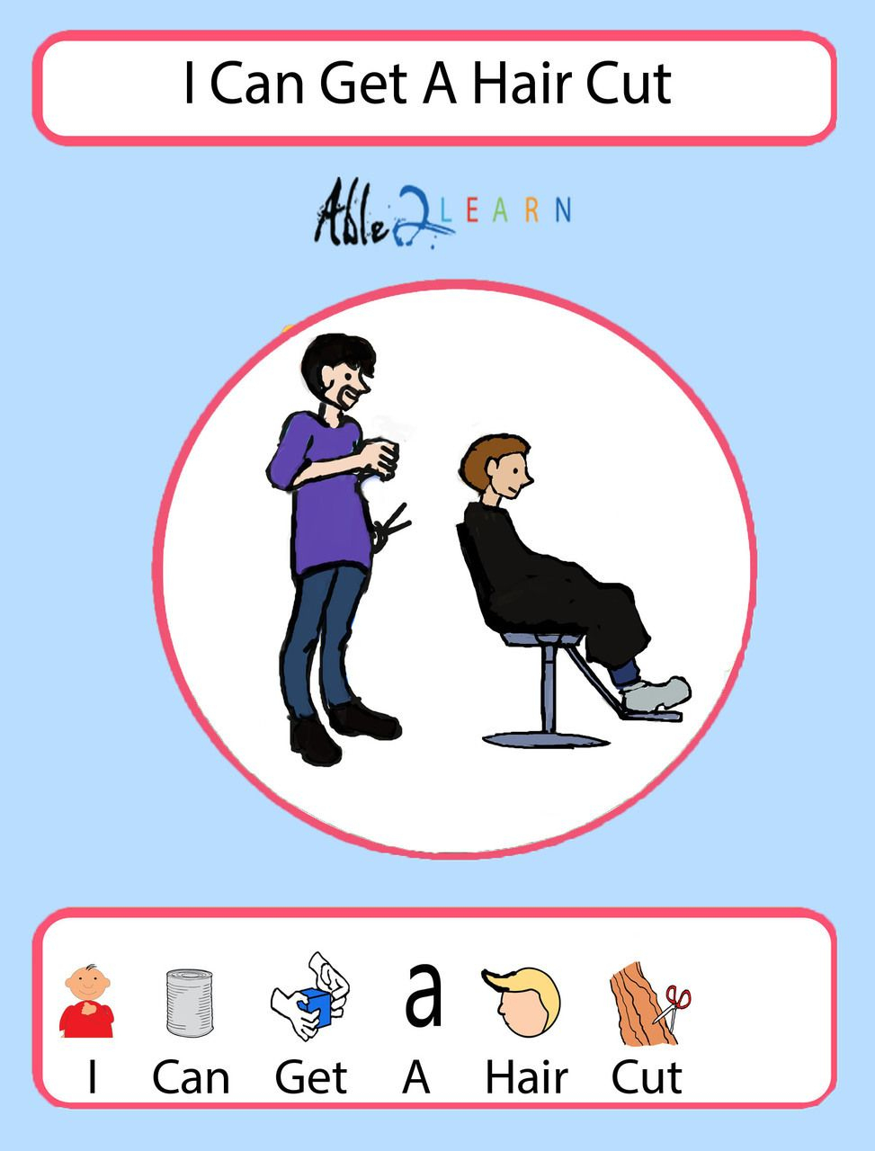 I Can Get A Haircut Boys Version: Social Story: Pages 12 | Autism - Free Printable Social Stories For Kids