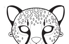 Giraffe Mask Template Printable Free