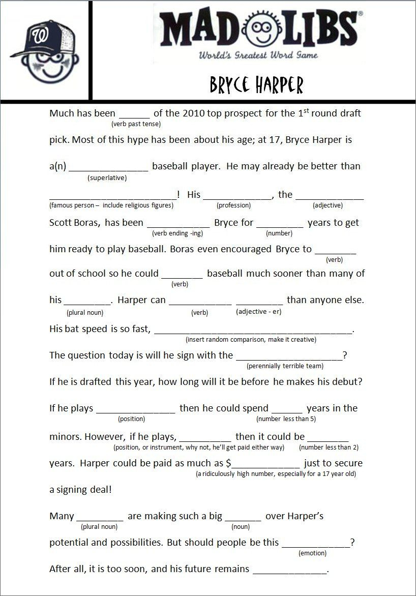Image Result For Free Adult Mad Libs Funny | Job Related | Pinterest - Mad Libs Online Printable Free
