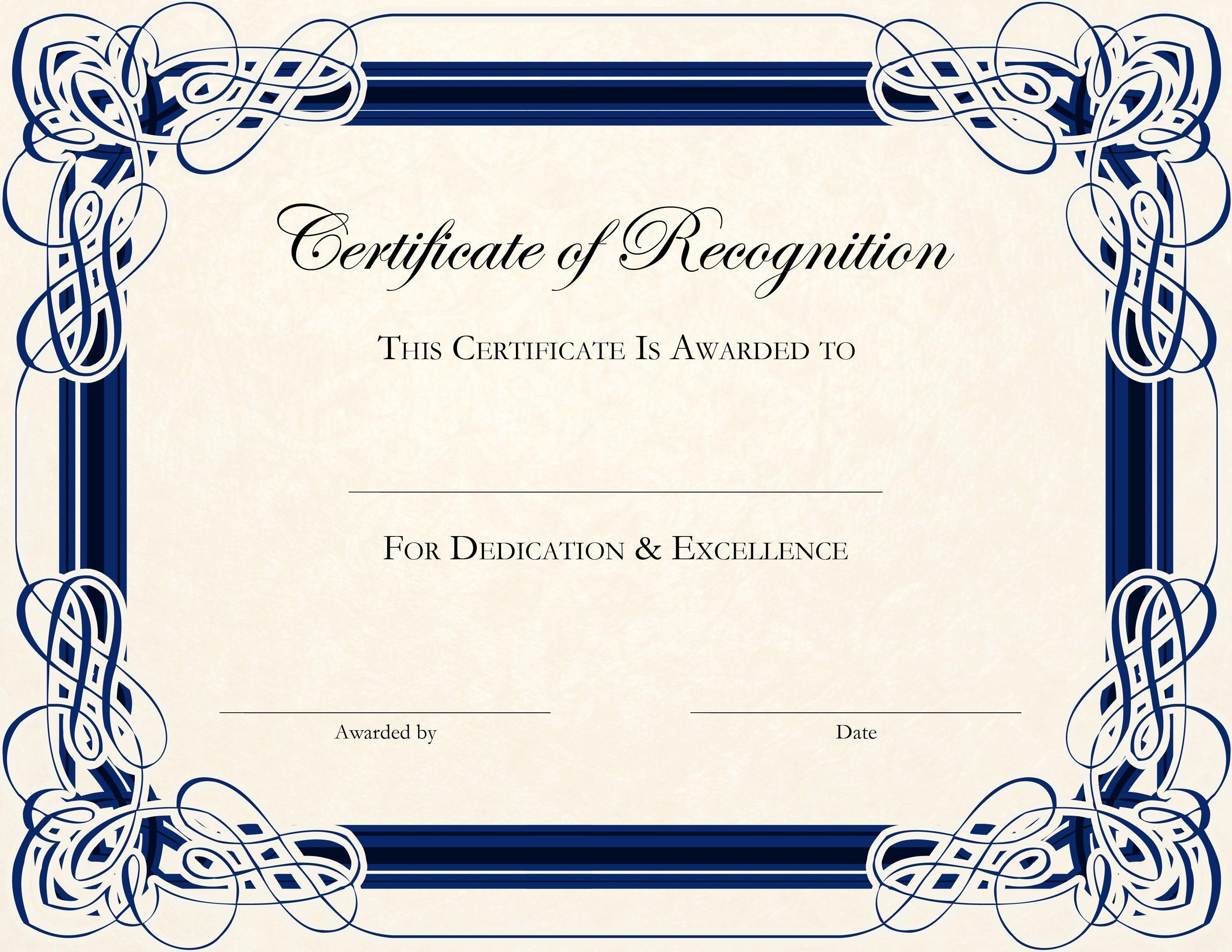 Image Result For Free Printable Award Certificate Template   Work - Free Printable Awards