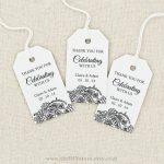 Image Result For Free Printable Wedding Favor Tags Template   Free Printable Thank You Tags Template