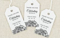 Image Result For Free Printable Wedding Favor Tags Template – Free Printable Thank You Tags Template