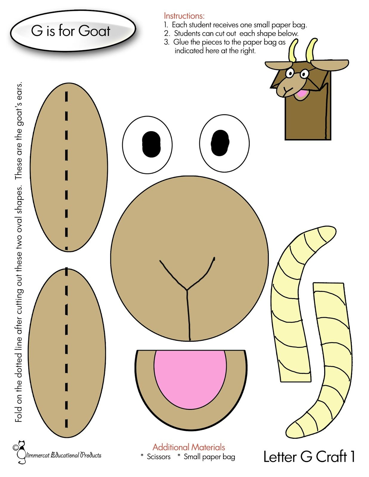 Image Result For The Three Billy Goats Gruff Craft Activity - Three Billy Goats Gruff Masks Printable Free