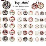 Images Pour Cabochons Et Création De Bijoux Trop Chou | Image   Free Printable Cabochon Templates