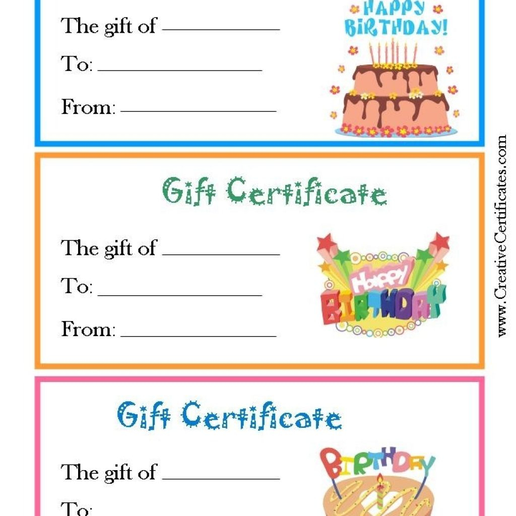 Inspirational Free Printable Coupon Templates | Best Template Pics - Free Printable Blank Birthday Coupons