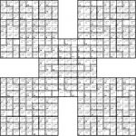Introducing Killer Samurai Sudoku   Killer Sudoku Free Printable