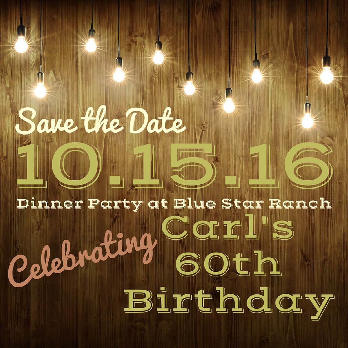 Invitation Maker: Create Invitations For Free | Adobe Spark - Free Printable Save The Date Birthday Invitations