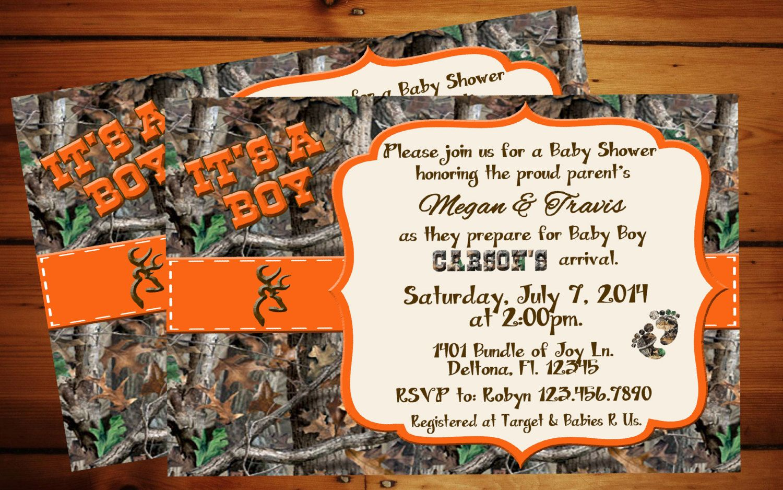 It's A Boy Camo Baby Shower Invitation. | Baby Bland | Baby Shower - Free Printable Camo Baby Shower Invitations