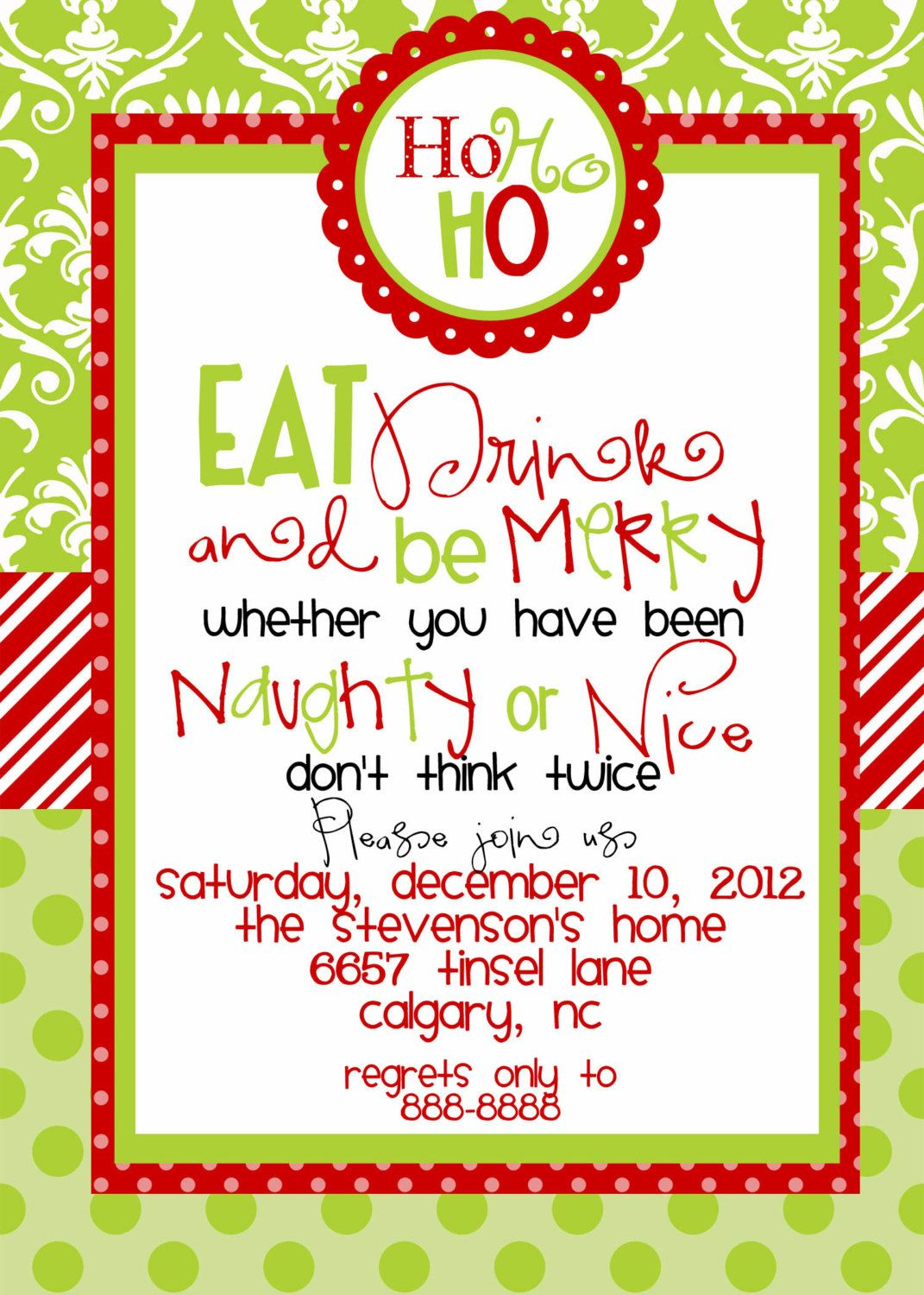 Jebo Fishing | Jebo Fishing | Pinterest | Christmas Party - Free Printable Religious Christmas Invitations