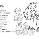 Jolly Phonics Book 3 Fun Final Test Worksheet   Free Esl Printable   Jolly Phonics Worksheets Free Printable