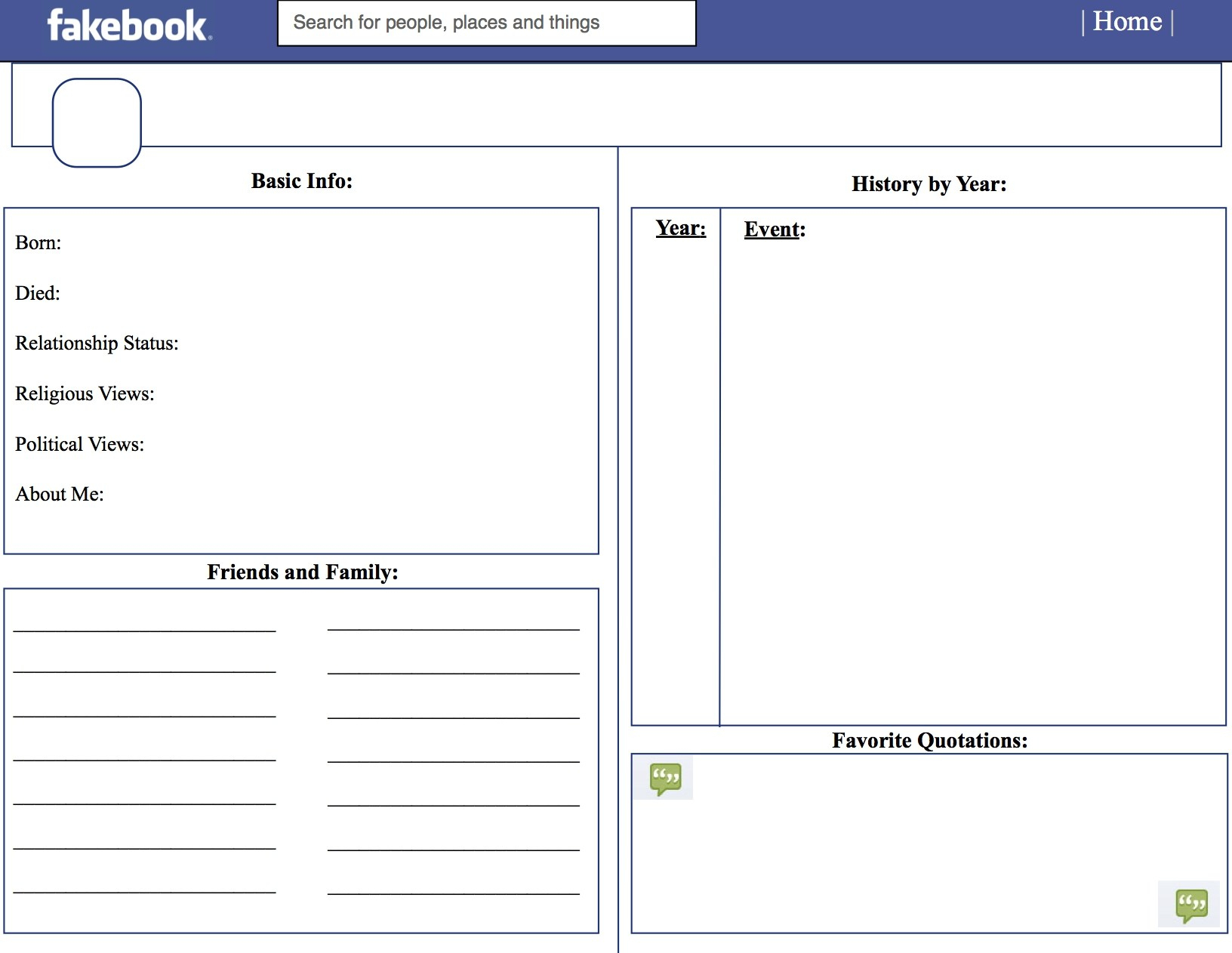 June 2018 – Zacet - Free Printable Facebook Template