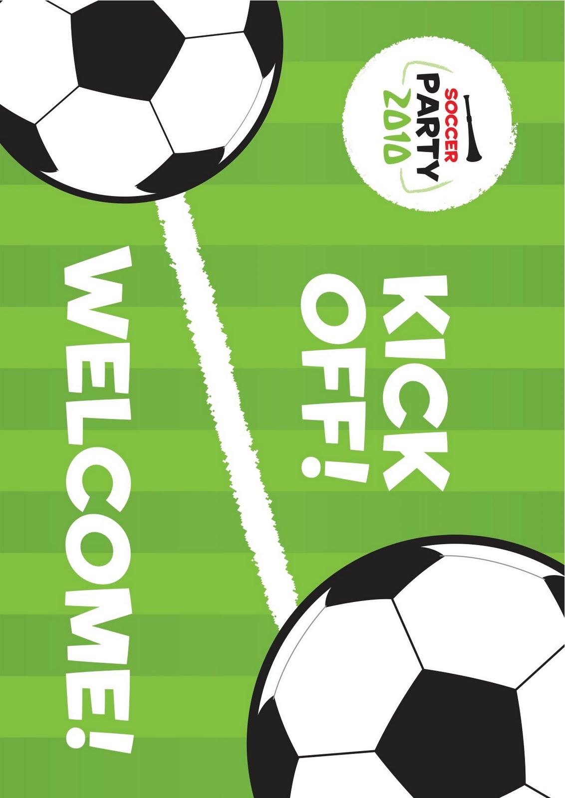 Kara's Party Ideas World Cup Soccer Party   Kara's Party Ideas - Free Printable Soccer Birthday Invitations