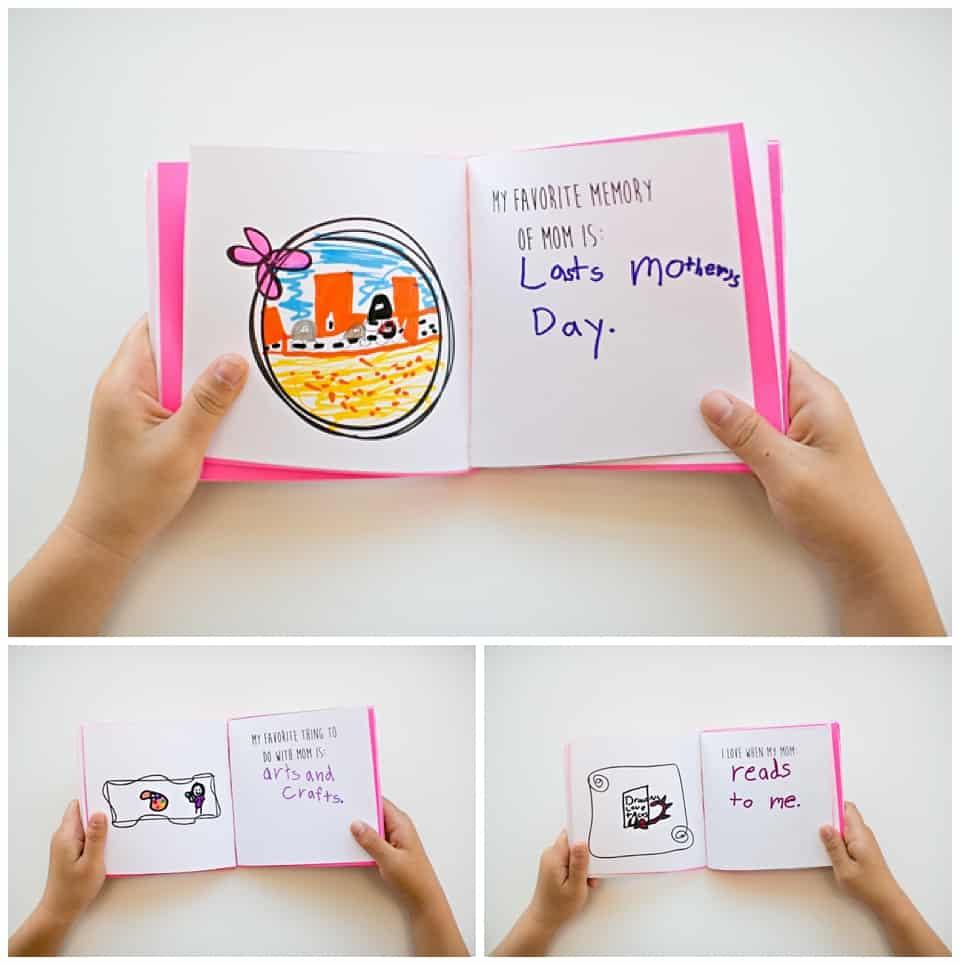 Kid-Made Free Printable Mother's Day Book - Free Printable Preschool Memory Book