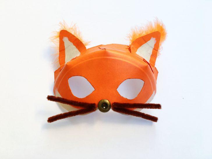 Free Printable Fox Mask Template