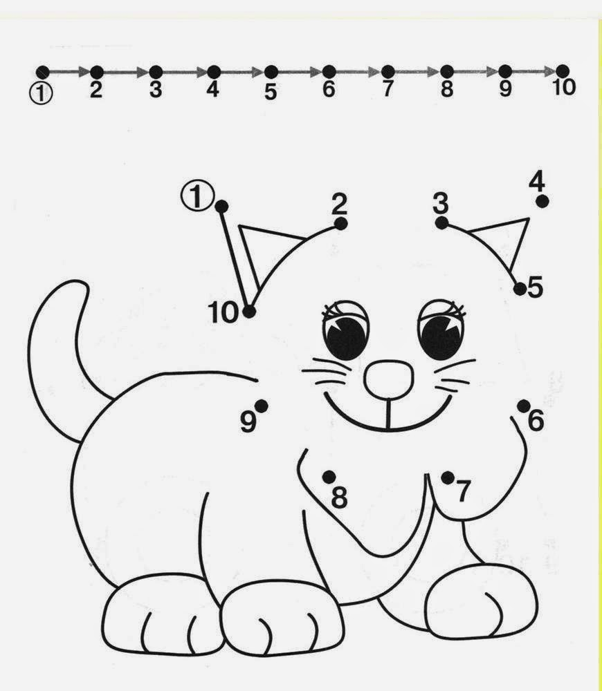 Kids Under 7: Free Dot To Dot Worksheets For Kids. Part 2 - Free Printable Alphabet Dot To Dot Worksheets