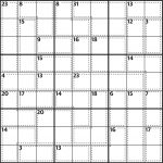 Killer Sudoku 589 | Life And Style | The Guardian   Killer Sudoku Free Printable