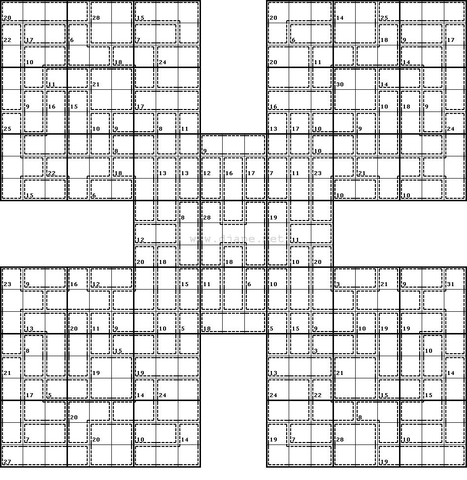 Killer Sudoku Online - Ecosia - Free Printable Samurai Sudoku