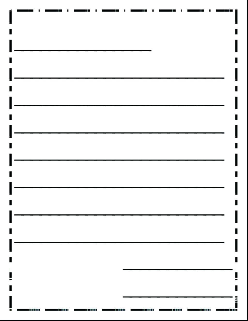 Kinder Writing Paper Kinder Handwriting Paper Grade Handwriting - Free Printable Handwriting Paper For First Grade