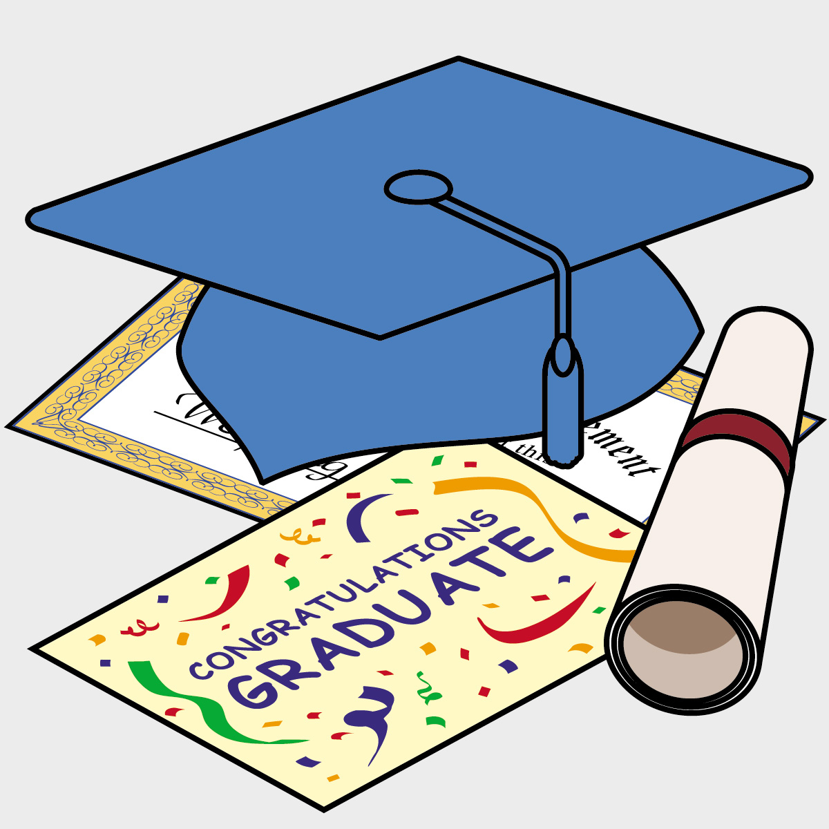 Kindergarten Graduation Clipart | Clipart Panda - Free Clipart Images - Free Printable Kindergarten Graduation Clipart