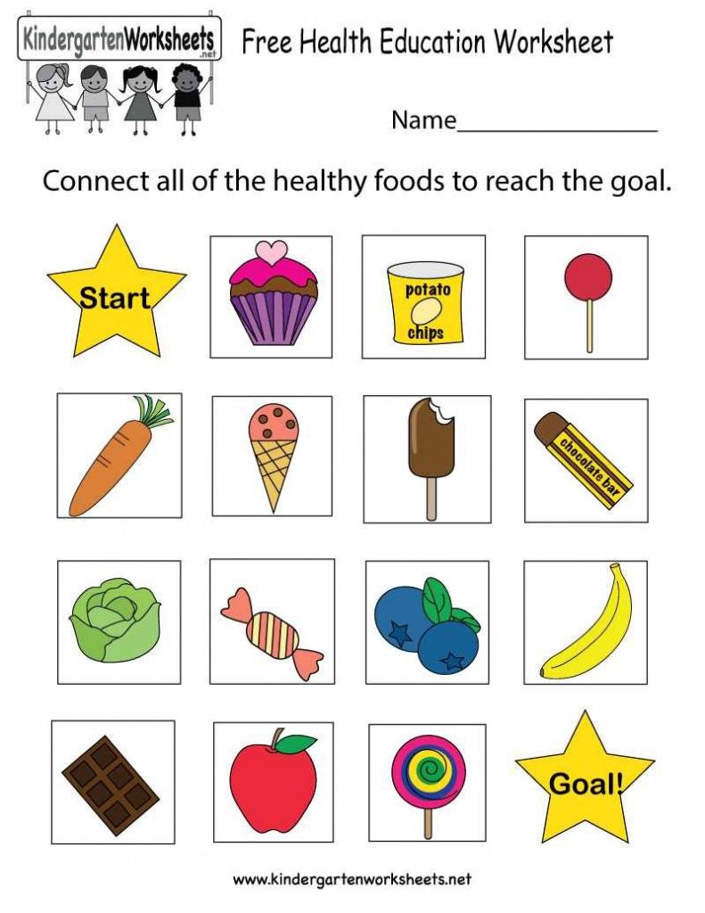 Kindergarten Kindergarten Sciences Free Printable Ks2 Printables - Free Printable Healthy Eating Worksheets