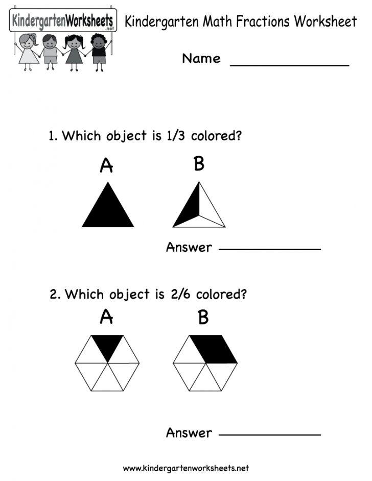 Free Printable Kindergarten Math Activities