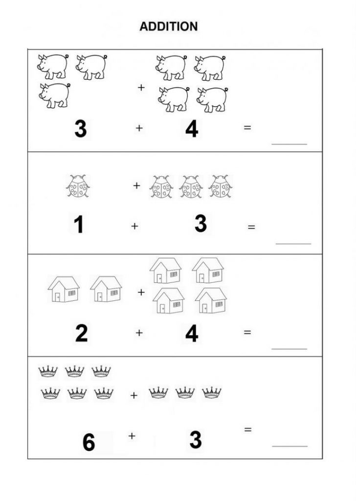 Free Printable Simple Math Worksheets
