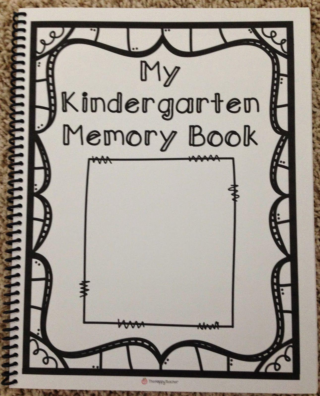 Kindergarten Memory Book | Kindergartenklub | Pinterest - Free Printable Preschool Memory Book