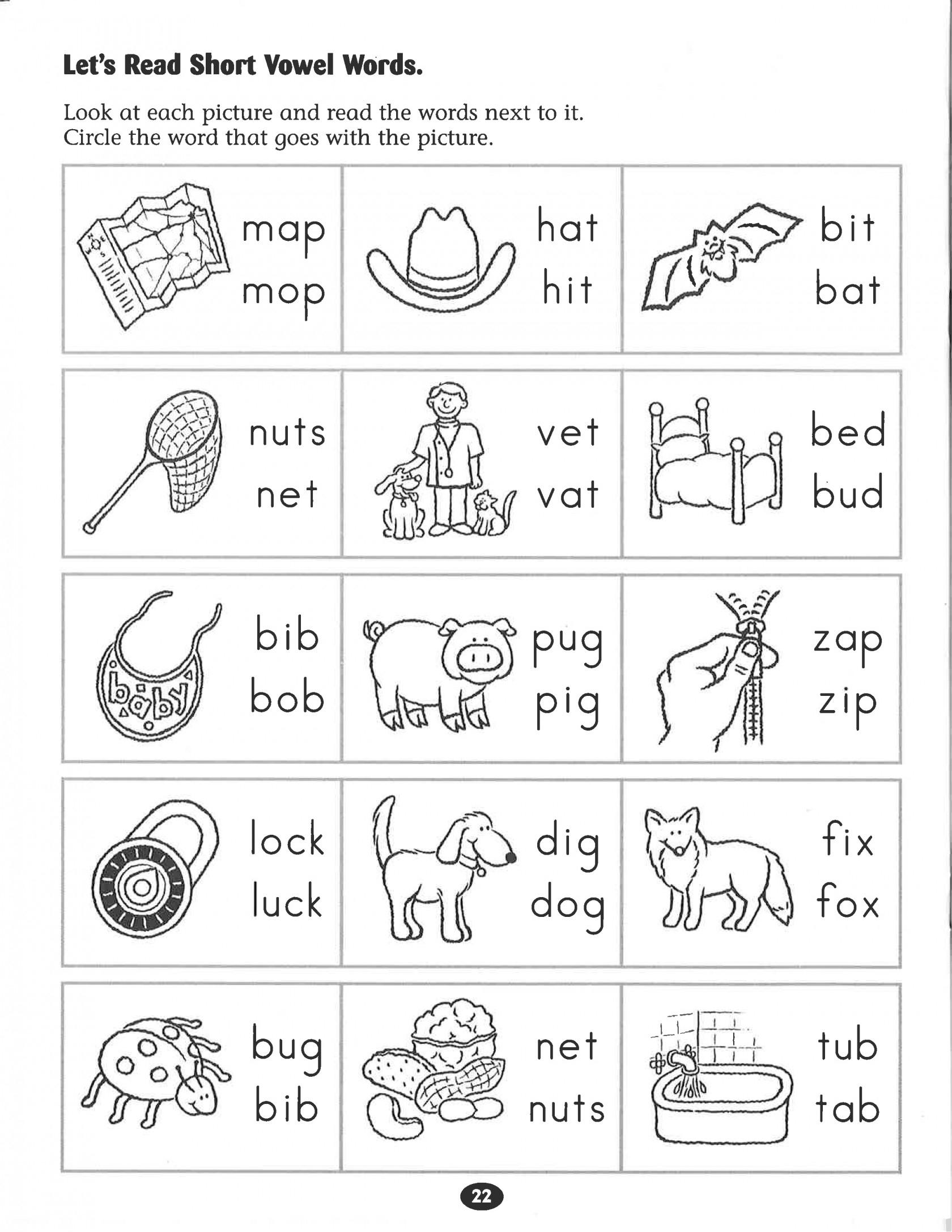 Kindergarten Phonics Worksheets Inspirational Kindergarten Free - Free Printable Phonics Worksheets
