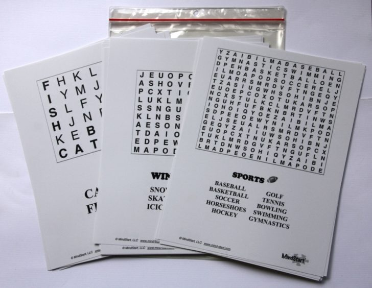 Free Large Printable Word Searches