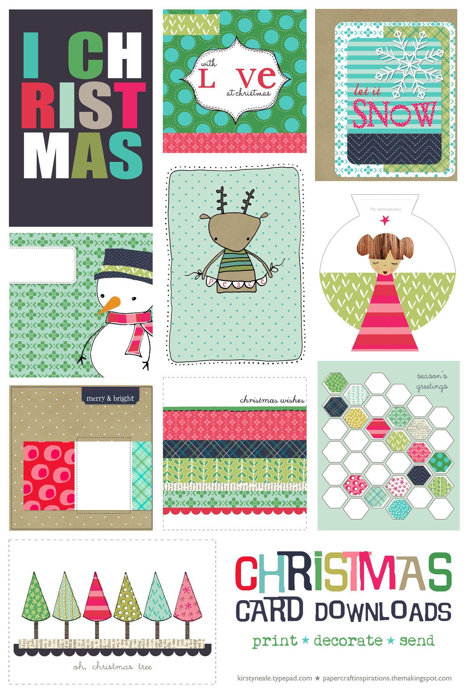 Lazy Christmas   Joyeaux Noel   Christmas, Christmas Printables - Free Printable Xmas Cards Download