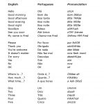 Learning The Portuguese Language Is Very Important To My Family In   Free Printable Portuguese Worksheets