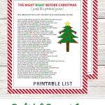 Left Right Christmas Game   Free Printable | All Fun And Games   Kwanzaa Trivia Free Printable