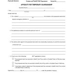 Legal Temporary Child Custody Agreement Form   Id97998 Opendata   Free Printable Temporary Guardianship Form