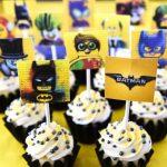 Lego Batman Cupcakes With Free Printable Toppers   Batman Cupcake Toppers Free Printable