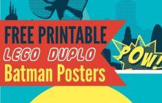 Lego Batman Free Printables! | Bloggers' Fun Family Projects - Free Printable Lego Batman