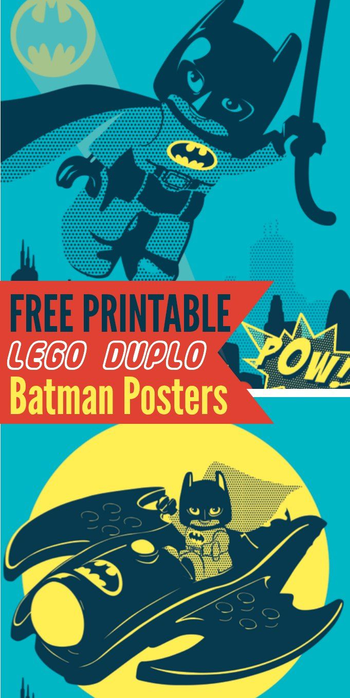 Lego Batman Free Printables! | Bloggers' Fun Family Projects - Free Printable Lego Batman
