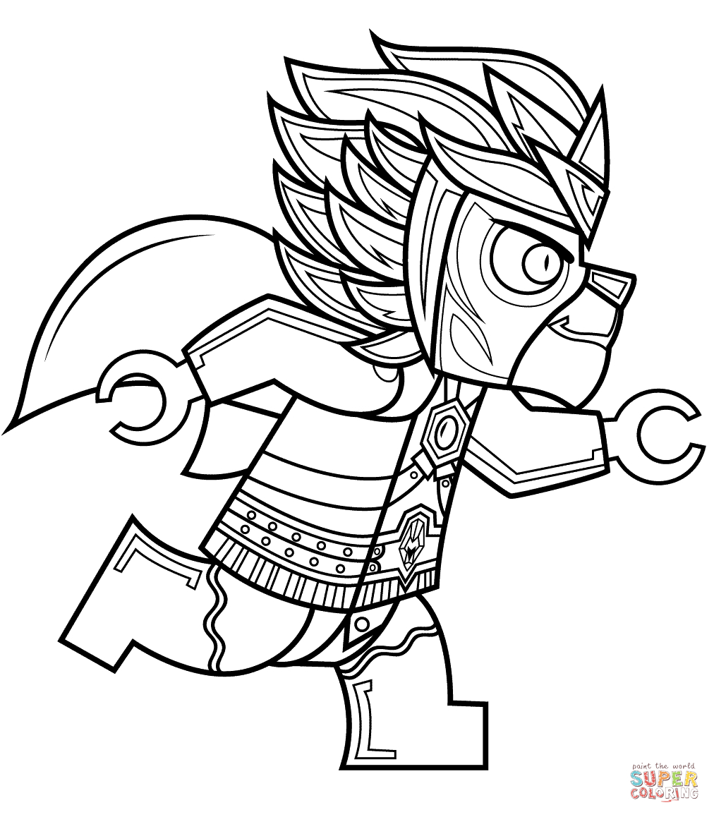 Lego Chima Laval Coloring Page | Free Printable Coloring Pages - Free Printable Lego Chima Coloring Pages