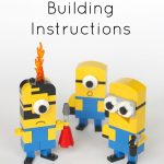Lego Minions Building Instructions   Frugal Fun For Boys And Girls   Free Printable Lego Instructions