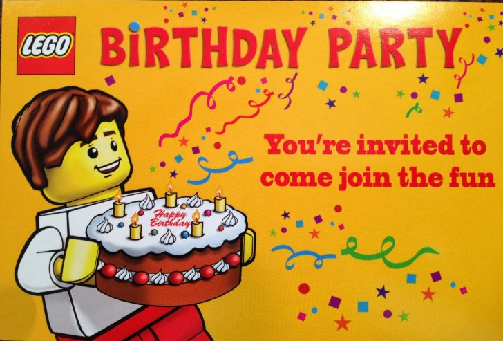 Lego Party Invitations Printable Free