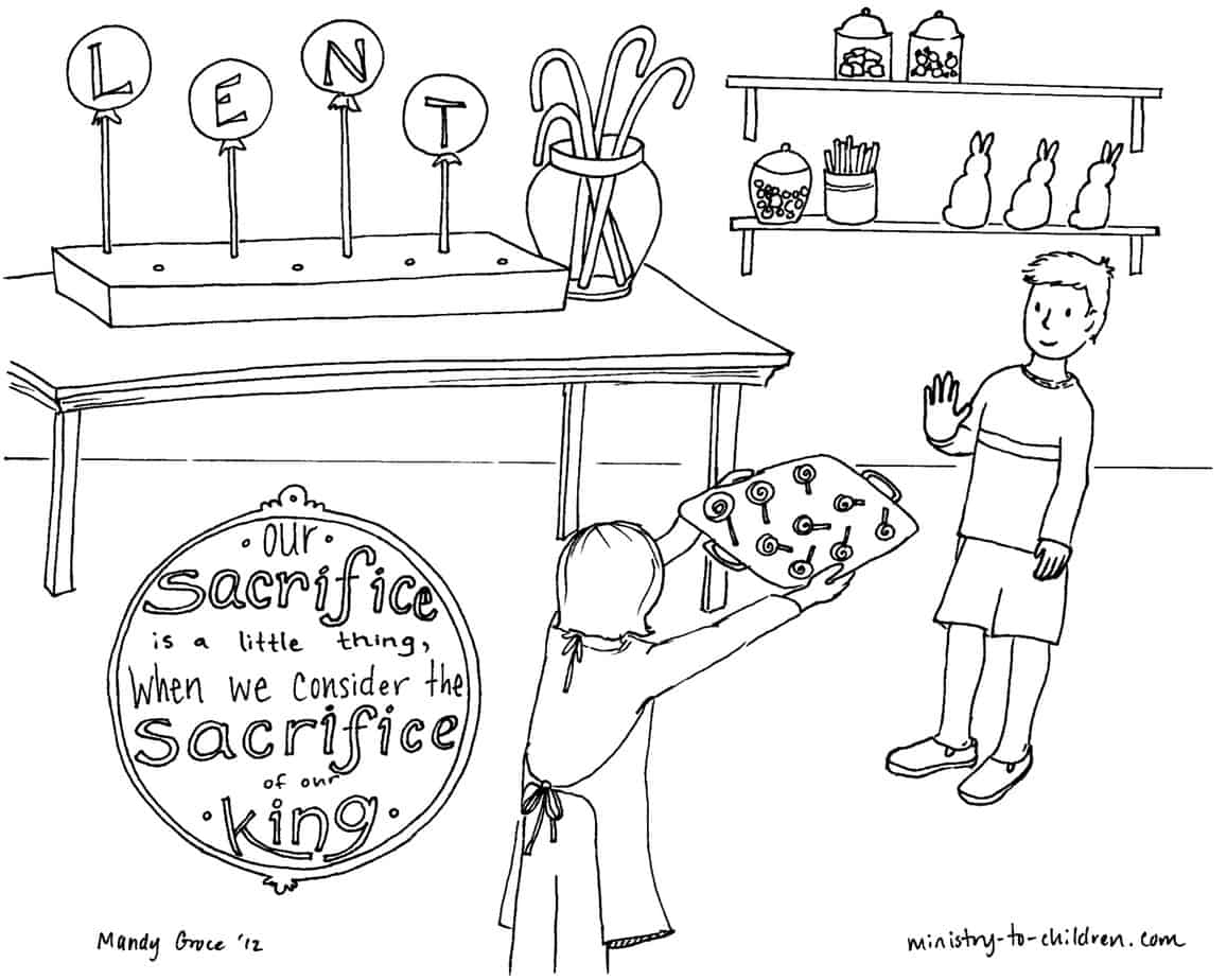 Lent Lessons & Activities For Sunday School - Free Printable Children's Church Curriculum