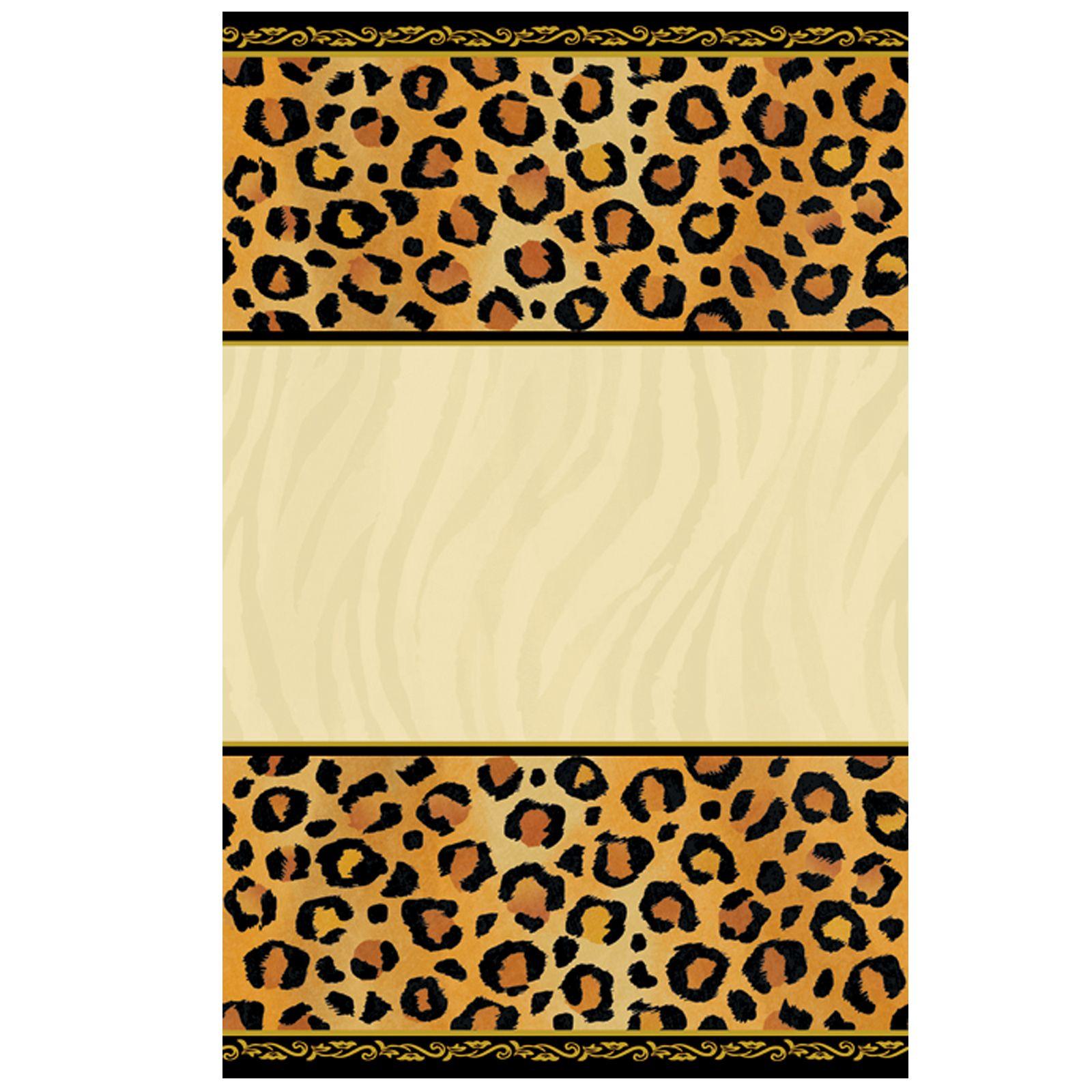 Leopard Print Invitations Printable Free Cakepins | Printables - Free Printable Cheetah Birthday Invitations