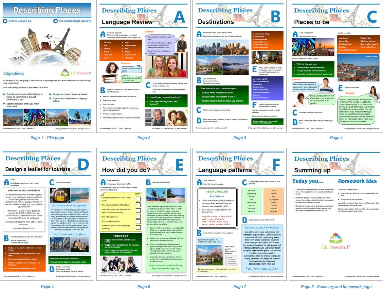 Lessons And Textbooks For Esl Teens | Esl Teenstuff - Free Printable Textbooks