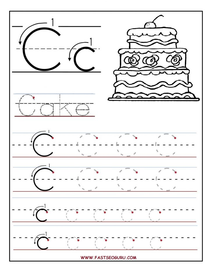 Free Printable Letter C Worksheets