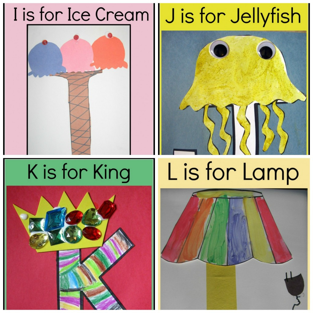Letter Of The Week Crafts - Free Printable Crafts For Preschoolers