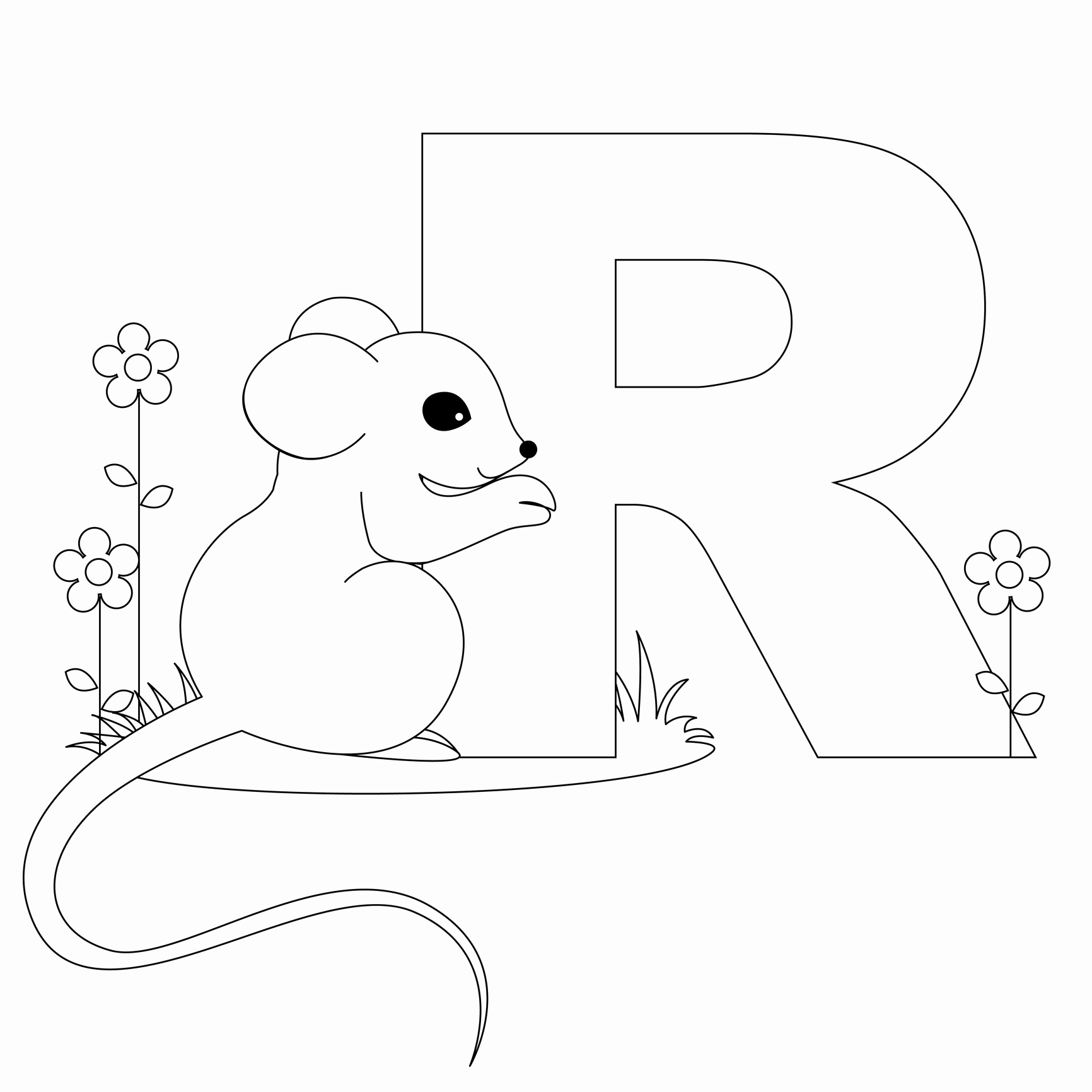 Letter Printable Coloring Pages Luxury Free Printable Alphabet - Free Printable Preschool Alphabet Coloring Pages