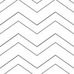 Life In Positudiness: Chevron Design Clipboard ~ Tutorial And A Free   Chevron Pattern Printable Free