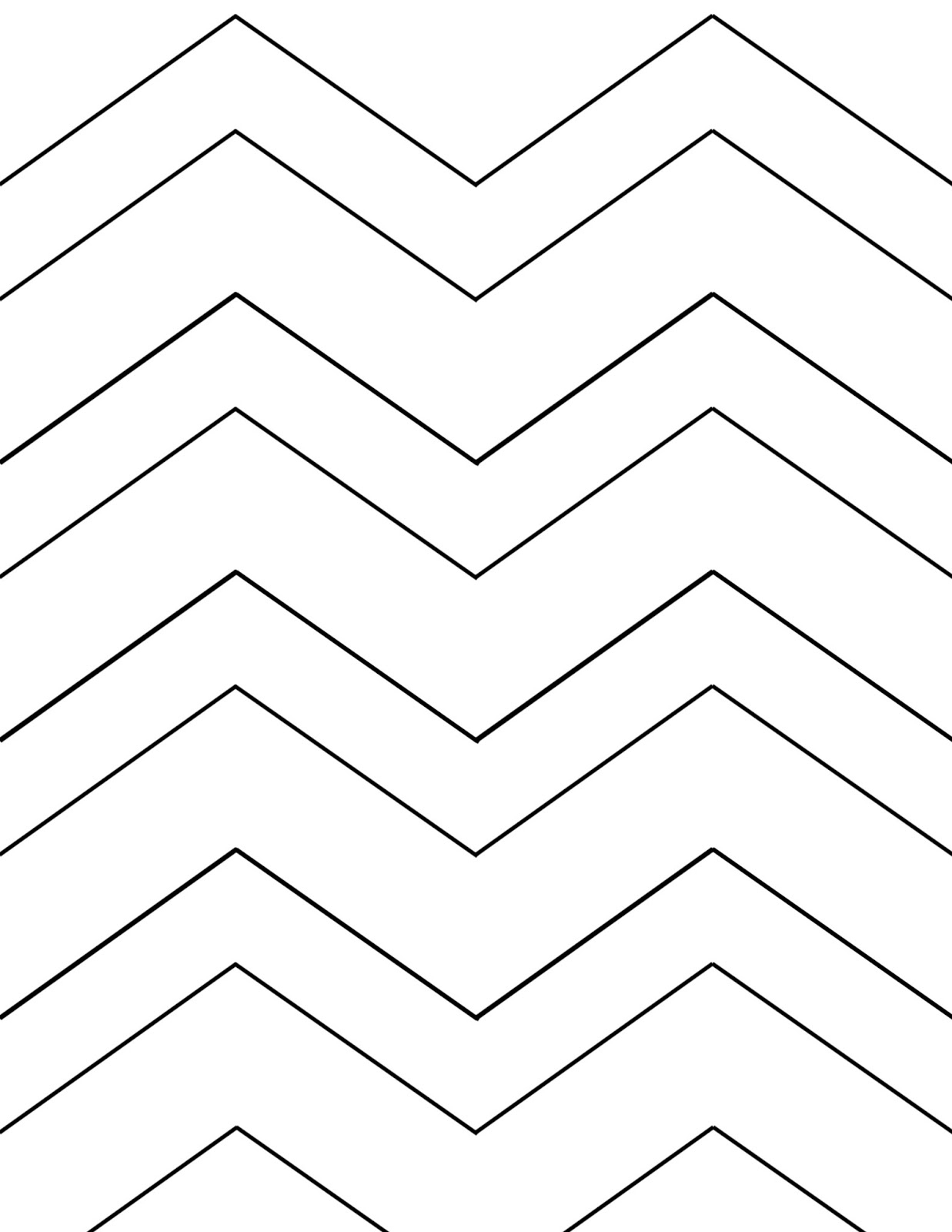 Life In Positudiness: Chevron Design Clipboard ~ Tutorial And A Free - Chevron Pattern Printable Free